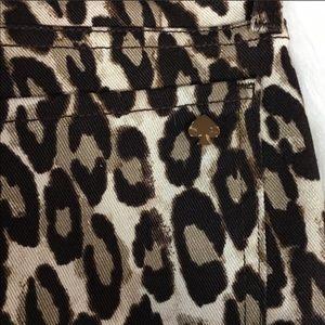 kate spade Jeans - Kate Spade Leopard Jeans 24 NWT